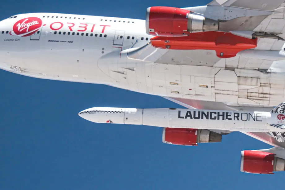 Virgin's Orbit rocket