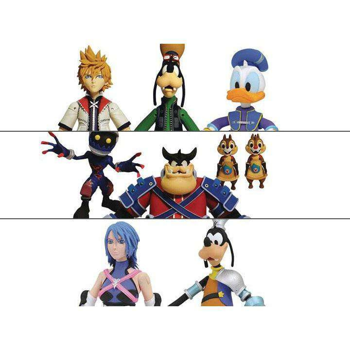 Image of Kingdom Hearts Select Wave 2 - Complete Set of 3 Figure Packs