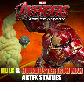 AVENGERS AGE OF ULTRON ARTFX STATUES