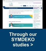 Through our SYMDEKO studies