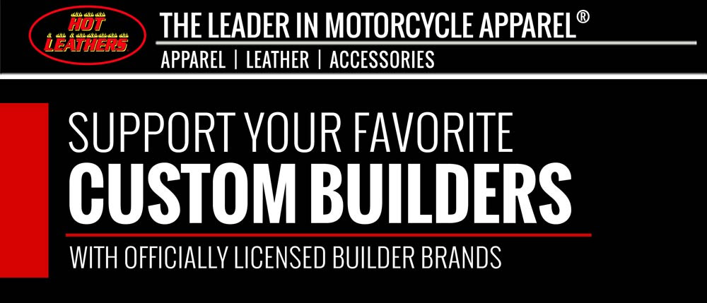 Custom motorcycle builders official merchandise