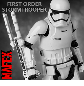 MAFEX FIRST ORDER STORMTROOPER
