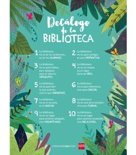 Decálogo biblioteca