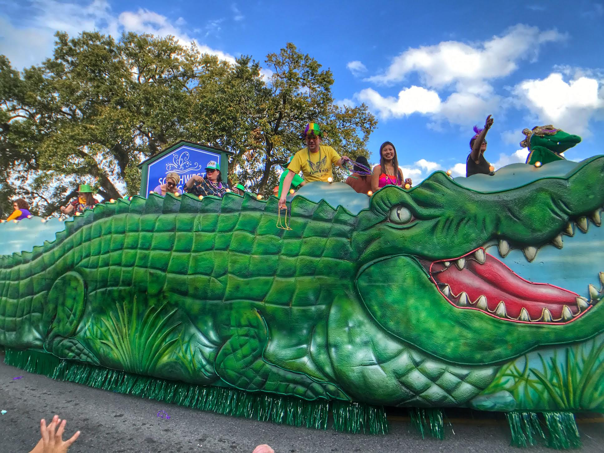 Lake Charles Mardi Gras Children's Parade