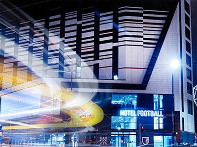 Hotel Football außen