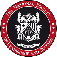 Logo for the National Society of Leadership and Success.