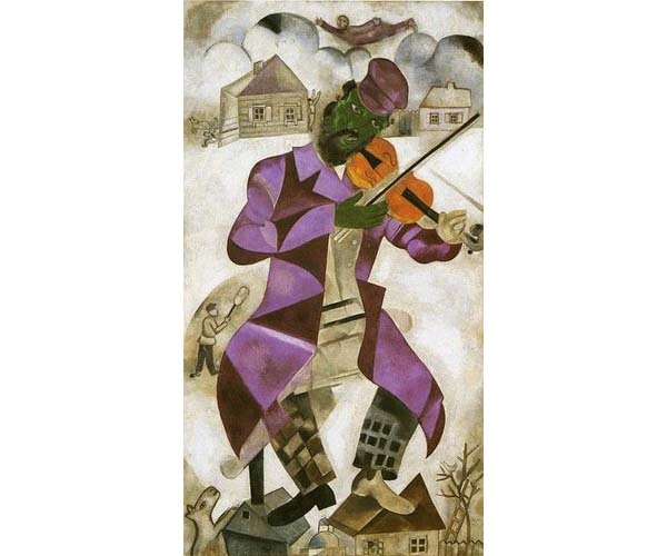 Chagall's The Green Violinist