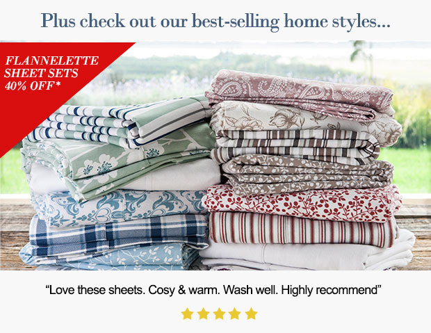 Save 40% OFF Best-Selling Home Styles Of Selected For Your Favourites at Ezibuy.com.au