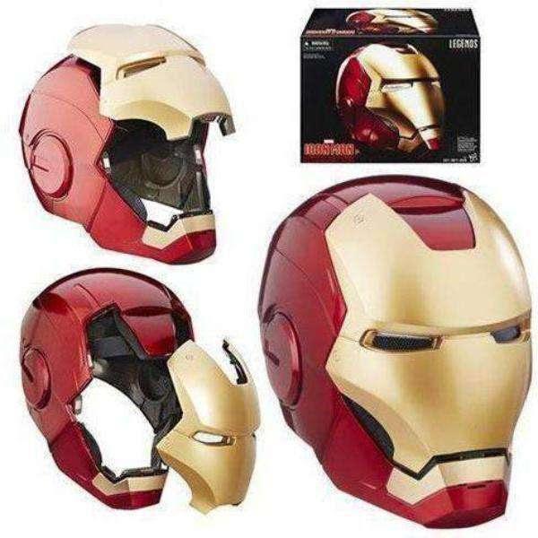 Image of Marvel Legends Iron Man Electronic Helmet