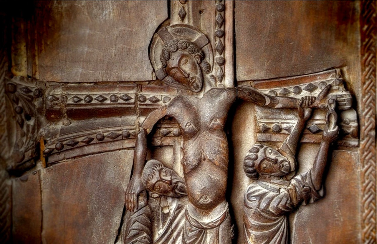 Christ Descent from the cross, Kotayk carving