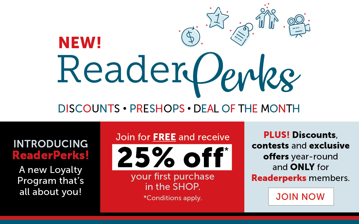 Become a ReaderPerks member!