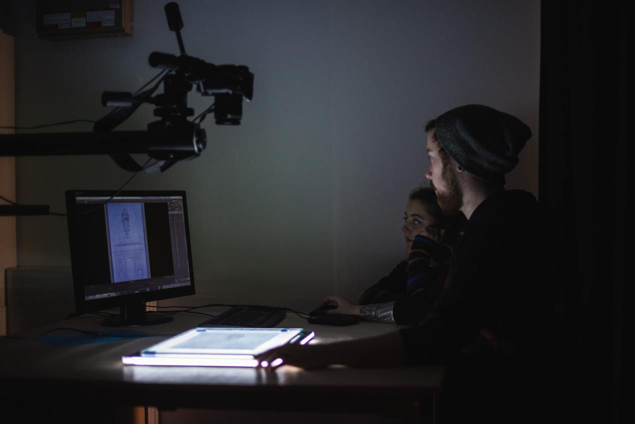 Students from Plymouth College of Art prepare for Illuminate 2018 5