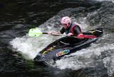 wet and wild : whitewater kayaking
