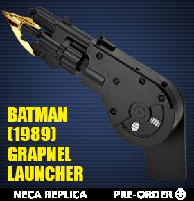 Batman (1989) Grapnel Launcher Prop Replica