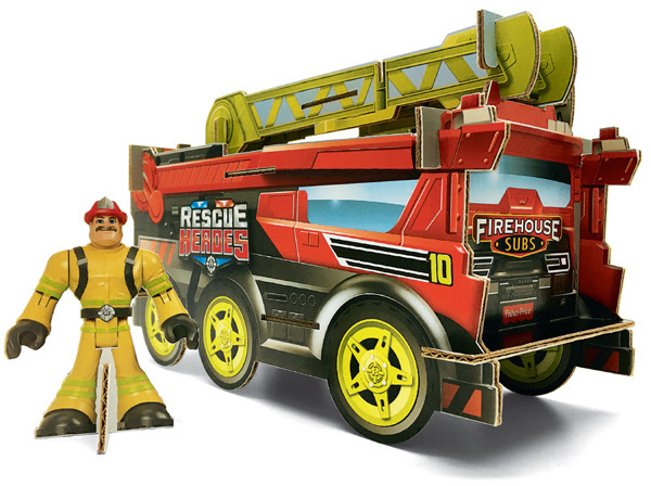 Restaurant Deals - Rescue Heroes   Firehouse Subs