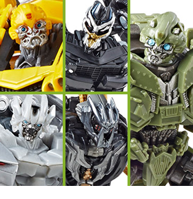 TRANSFORMERS STUDIO SERIES FIGURES