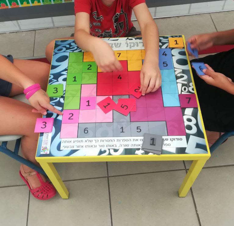 שולחנות חשיבה מגנטיים | דקל נוי משחקי חשיבה