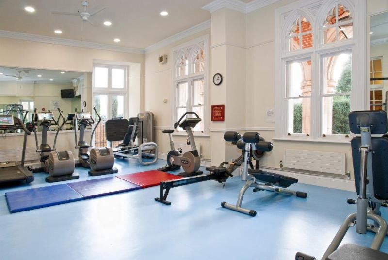 Crossland House gym