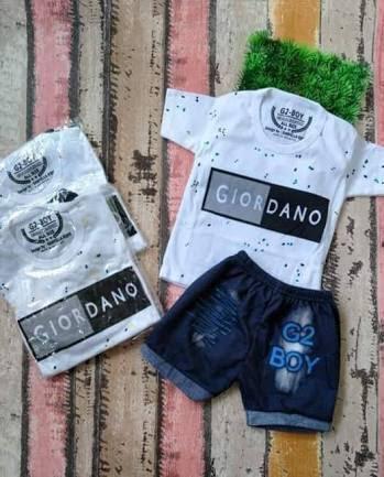 baju anak GIORDANO umur 3 bulan sampai 18 bulan