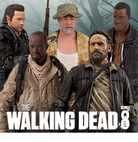 WALKING DEAD TV SERIES FIGURES