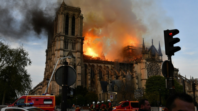 Pożar Katedry Notre-Dame w Paryżu