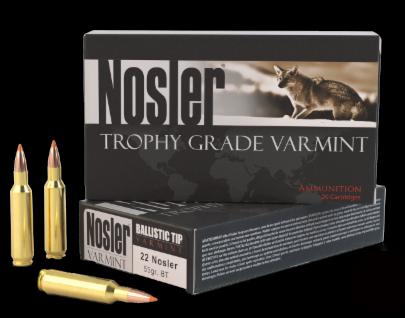 22 Nosler Trophy Grade Varmint