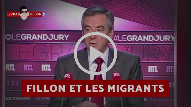 #LeVraiFillon : Fillon et les migrants |Marine 2017