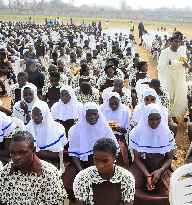 Students in Osun, Nigeria. (Osun state government)