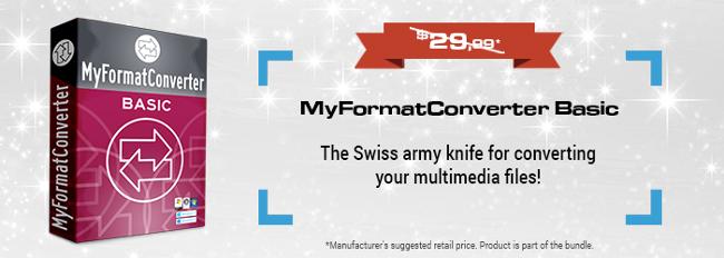 MyFormatConverter Basic - Free Full Version