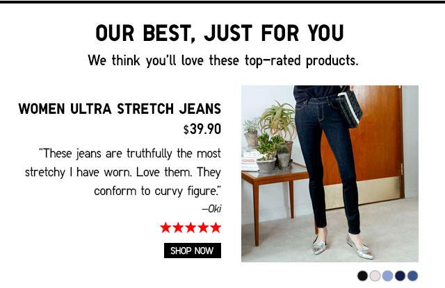 WOMEN ULTRA STRETCH JEANS - SHOP NOW