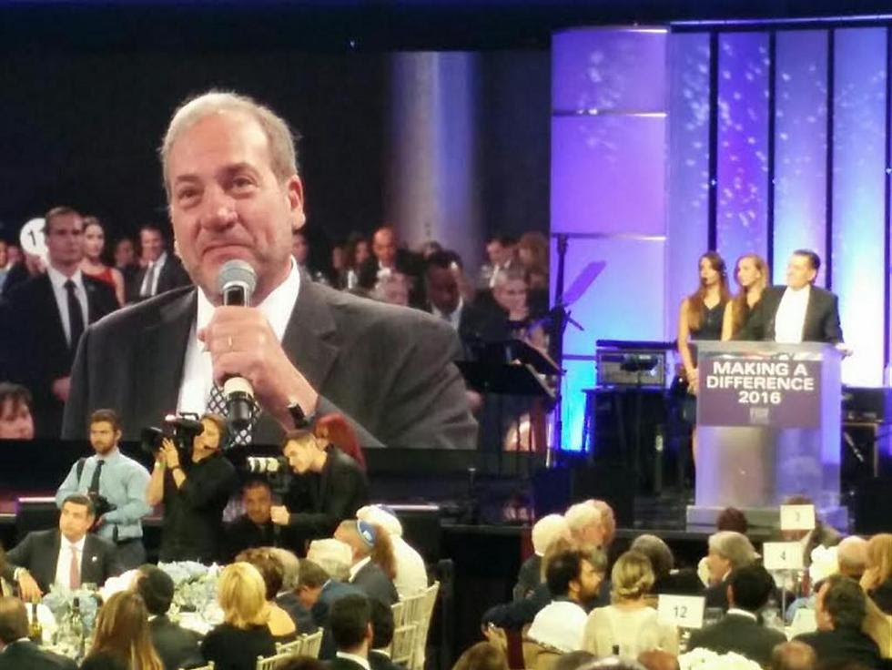 Rabbi Yechiel Eckstein, who donated $6 million to FIDF (Photo: Yael Veltzer)