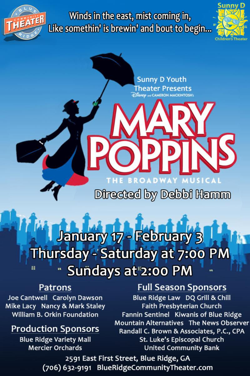 Mary Poppins Poster