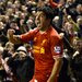 Liverpool's Luis Suárez ended the rout of Everton with the last goal in a 4-0 victory.