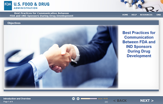 Best Practices for Communication Between FDA and IND Sponsors During Drug Development