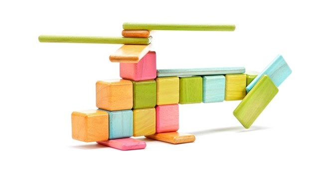 Magnetic Wooden Blocks + More!
