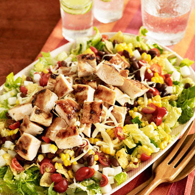 CHIPOTLE BBQ CHICKEN CHOPPED SALAD