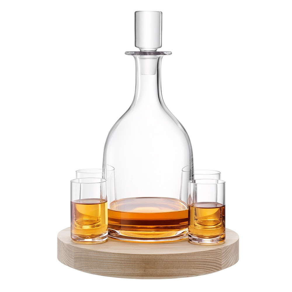 LSA LOTTA DECANTER SET & Ash Base