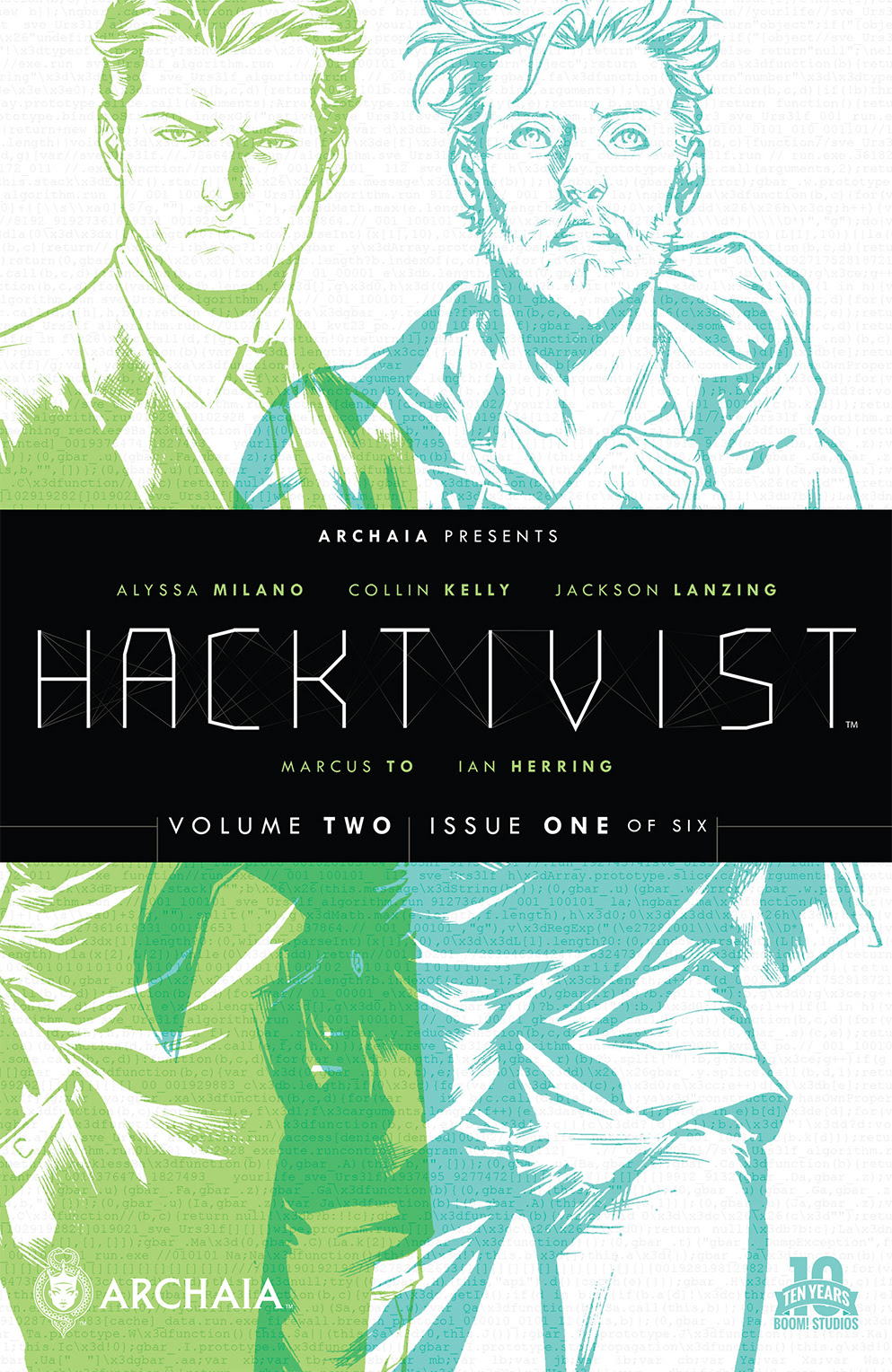 Hacktivist Vol. 2 #1 (of 6) Main Cover by Marcus To