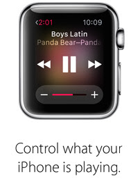 Control what your iPhone is playing.