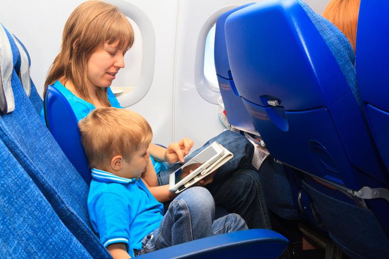 Work with your children to make your flight as enjoyable as possible.