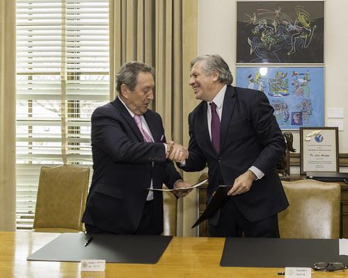 OEA y SICA firman acuerdo de cooperación en áreas de desarrollo regional