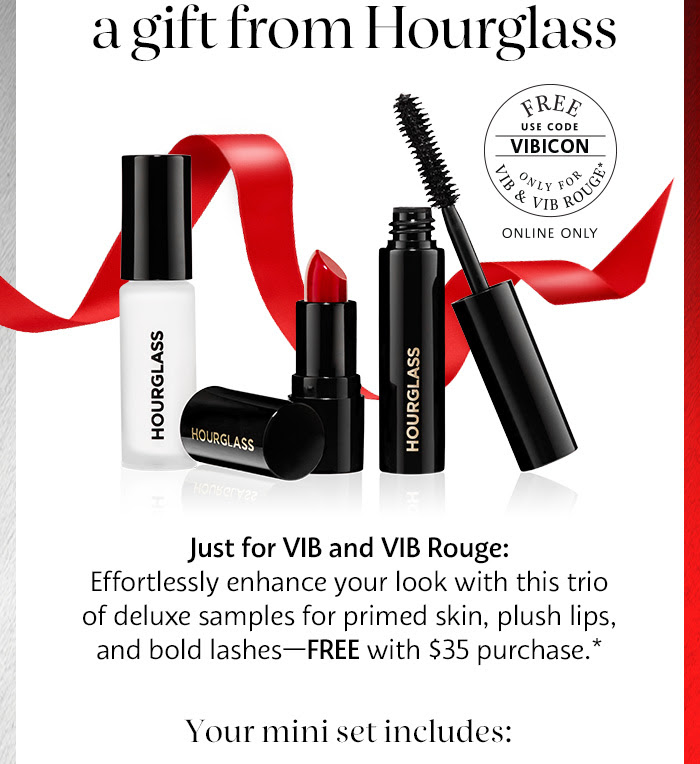 Receive a free 3piece bonus gift with your $35 purchase