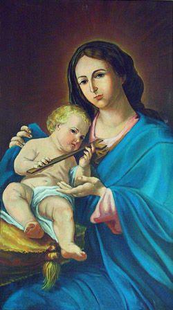Znalezione obrazy dla zapytania matka boża pięknej miłości