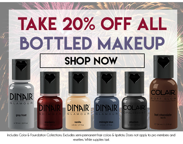 Take 20% Off All Bottled Makeup