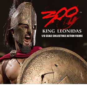 1/6 SCALE KING LEONIDAS FIGURE