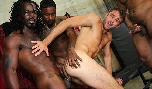BlacksOnBoys - Max Adonis, Fame, Knockout & Ray Diesel