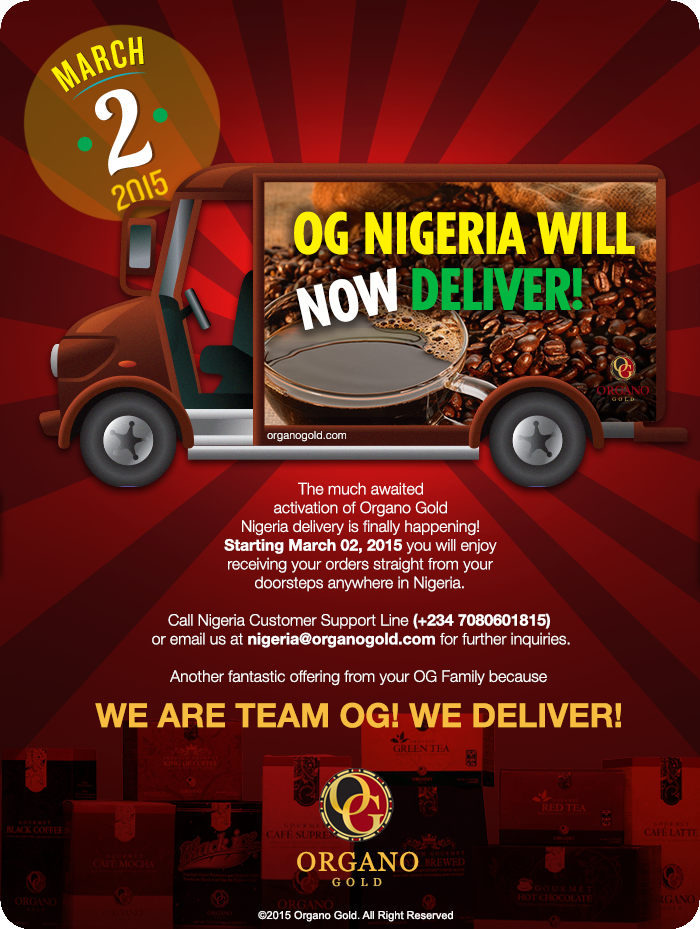 OG Nigeria Will Now Deliver!