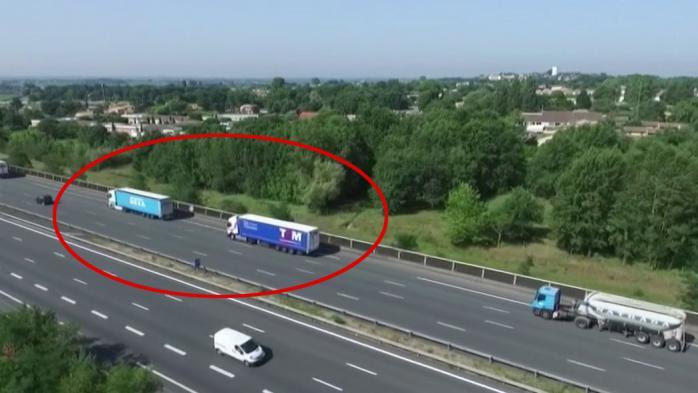 VIDEO. Sécurité routière : la police utilise désormais un drone pour repérer les infractions
