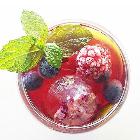 hibiscus cold brew tea