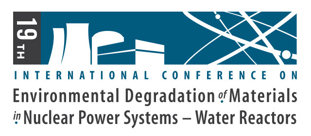 The 19th International Conference on Environmental Degradation of Materials in Nuclear Power Systems- Water Reactor